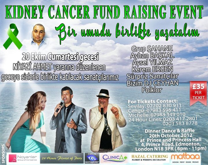 Kidney Cancer Fund Raising Event